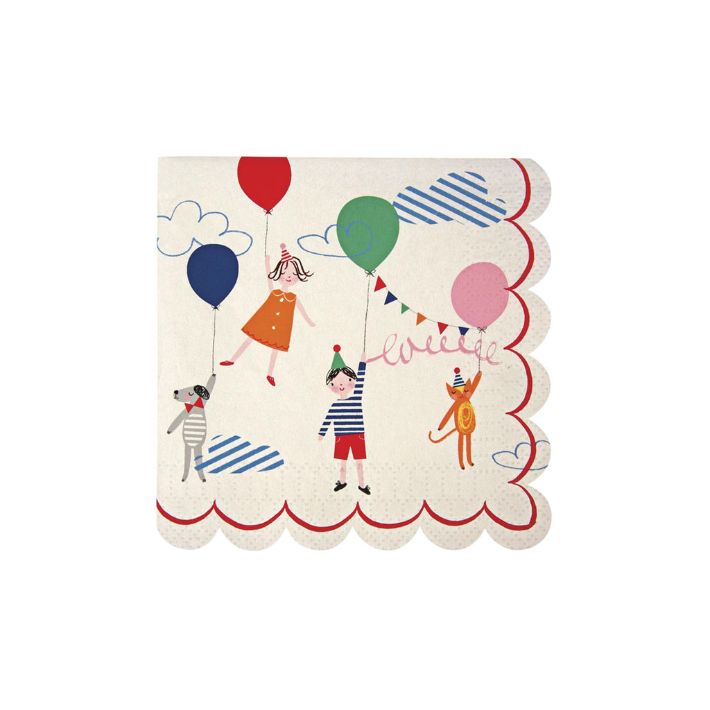 Toot Sweet Beverage Napkins with Children
