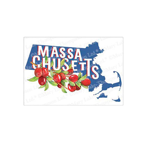 Flour Sack Tea Towel - Massachusetts