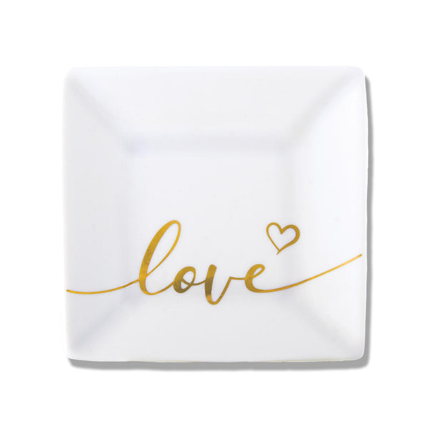 Love with Heart Trinket Dish
