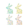 Wildflower Patterned Bunny Napkins