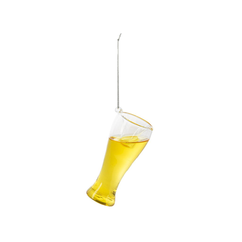 Cheer Beer Glass Ornament
