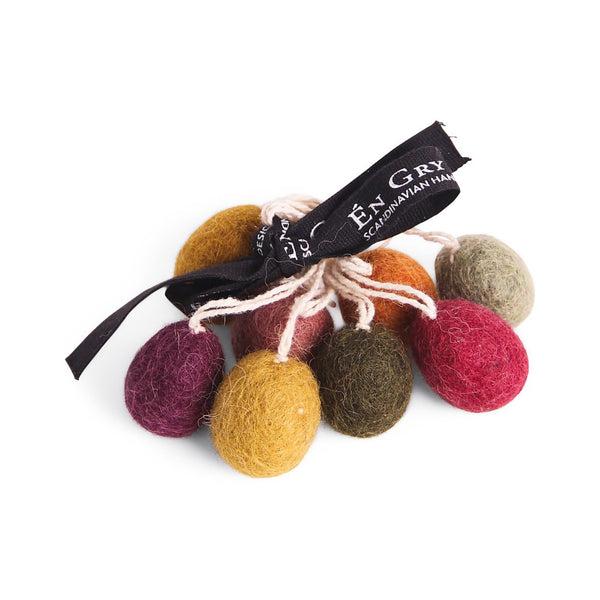Felt Easter Eggs - Small