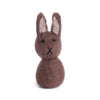 Felt Easter Rabbit Ornament - Grey