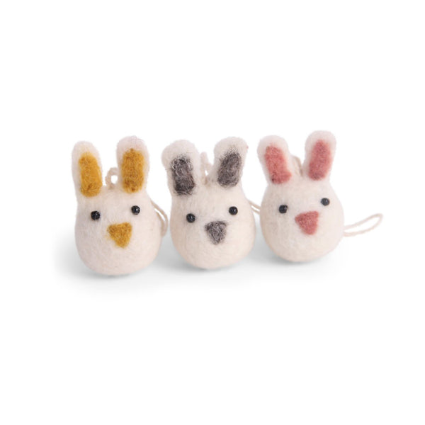 Felt Mini Bunny Ornaments