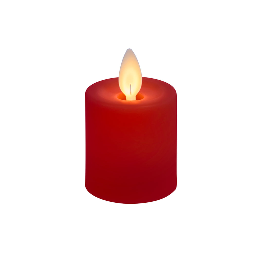 LuxuryLite Votive Candle - Red