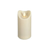 LuxuryLite Wax Pillar Candle - Ivory - 6