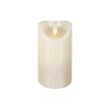 LuxuryLite Wax Pillar Candle - Ivory - 8