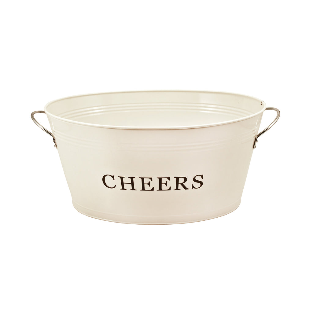 Cheers Galvanized Metal Tub