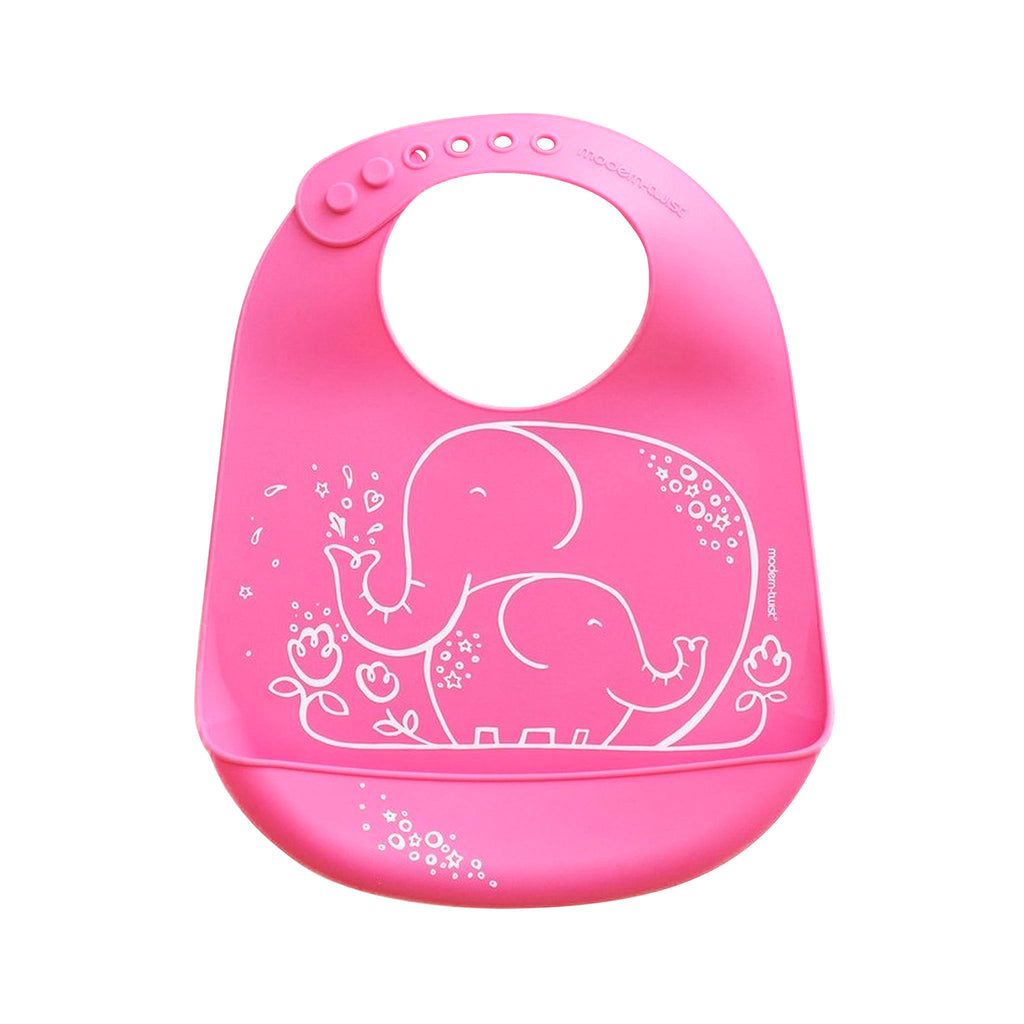 Modern Twist Bucket Bib - Elephant Hugs