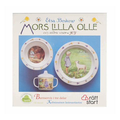 Elsa Beskow Dish Gift Set - Songs