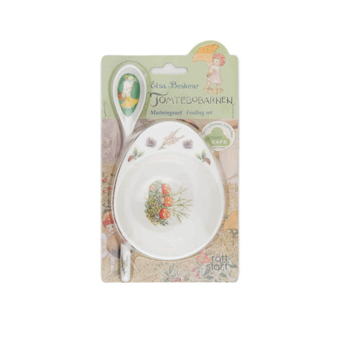 Elsa Beskow Feeding Gift Set - Forest