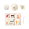 Bamboo 5PC Mealtime Set - ABC
