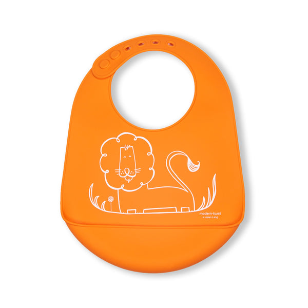 Modern Twist Bucket Bib - Dandy Lion