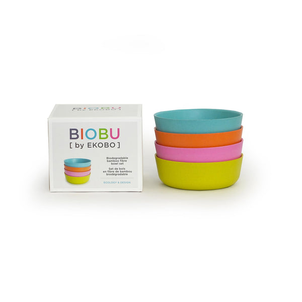 BIOBU Bambino Bowl Set of 4