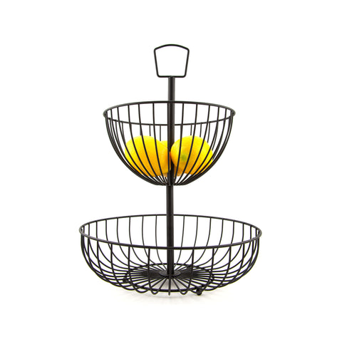 Wire 2 Tier Fruit Basket