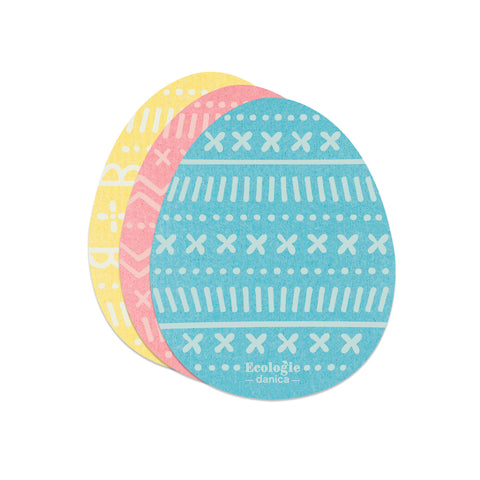 Swedish Dishcloth Set - Easter Eggs