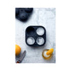 Peak Ice Works Silicone Ice Tray - Spheres - Charcoal