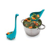 Mama Nessie Colander Spoon in use