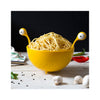 Spaghetti Monster on table