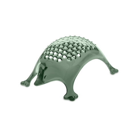 Hedgehog Cheese Grater - Transparent Eucalyptus
