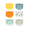 Purrfect Pinch Bowl Set of 6