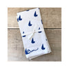 Erin Flett Sailboat Napkins Set of 2 - Royal Blue
