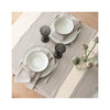 Lara Linen Runner - Natural - tabletop
