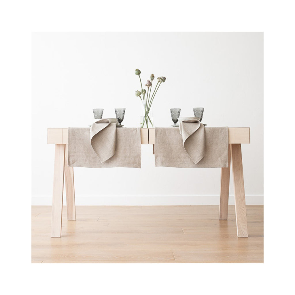 Lara Linen Runner - Natural