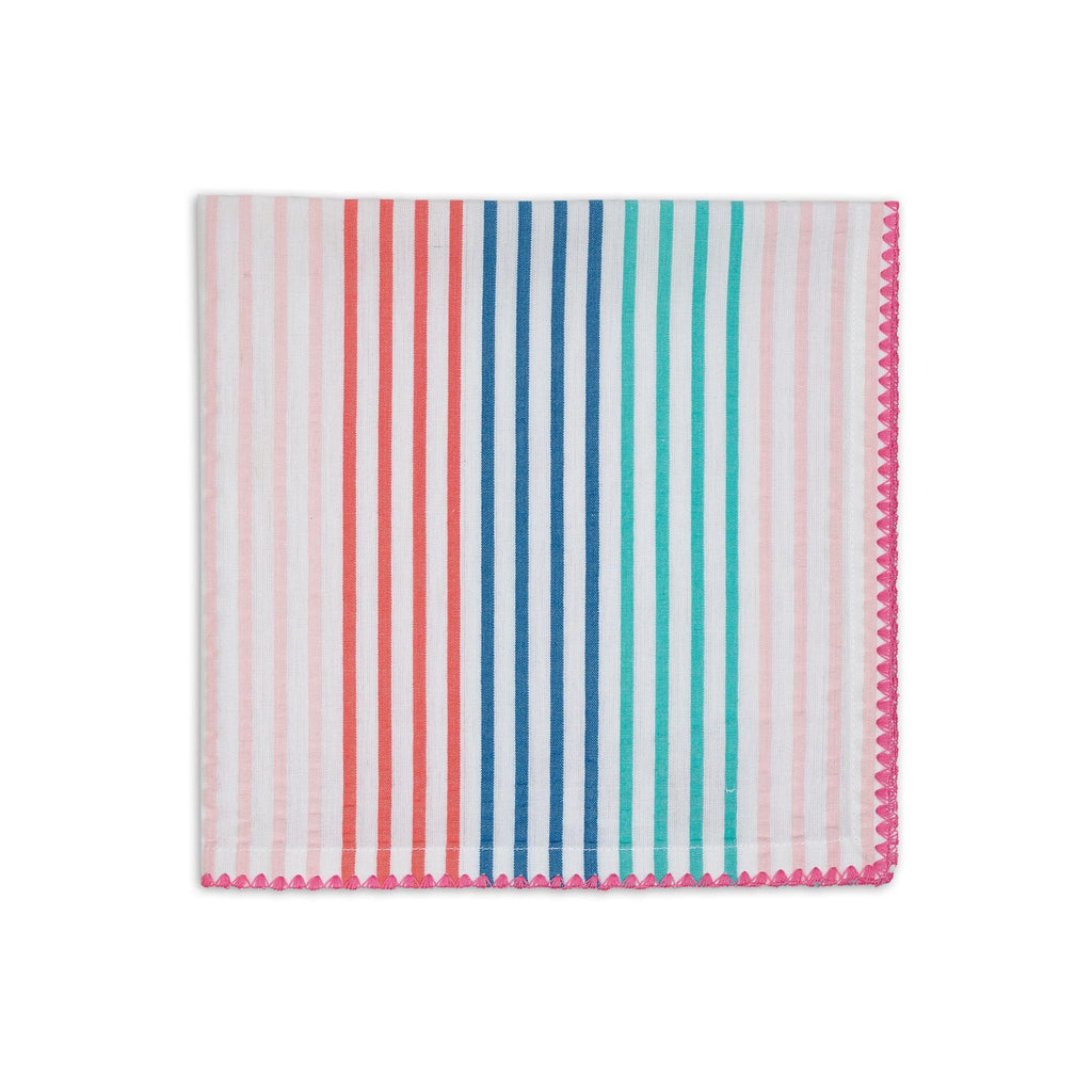 Seersucker Striped Dinner Napkin