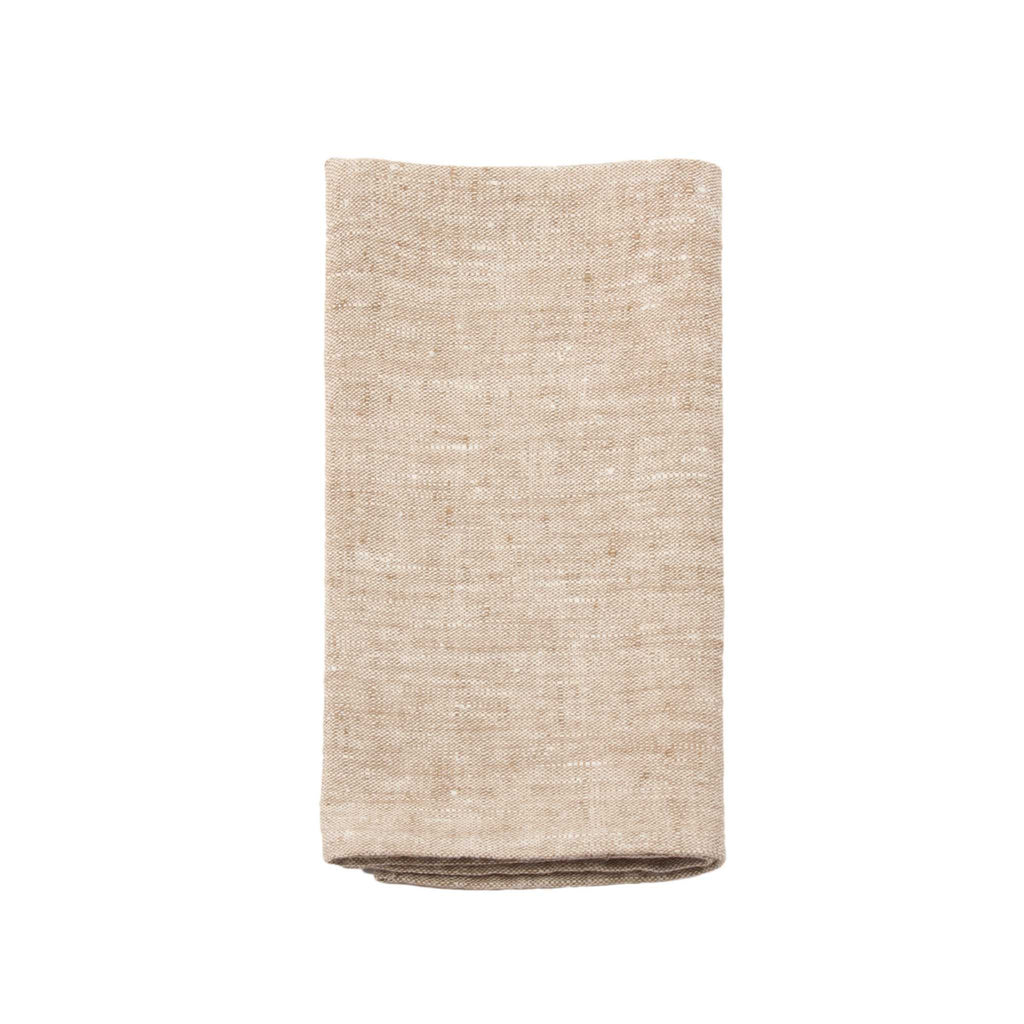 Francesca Linen Napkin - Brown