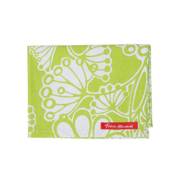 Fiona Howard Tea Towel - Green