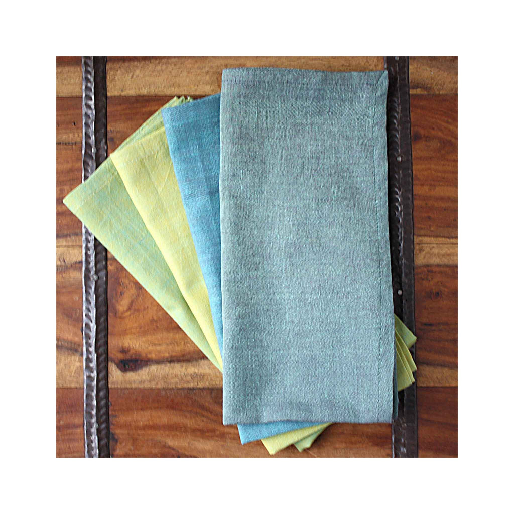 Cotton Napkin Set of 4 - Mint Assortment