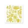 Pilgrim Waters Tea Towel - Veggies
