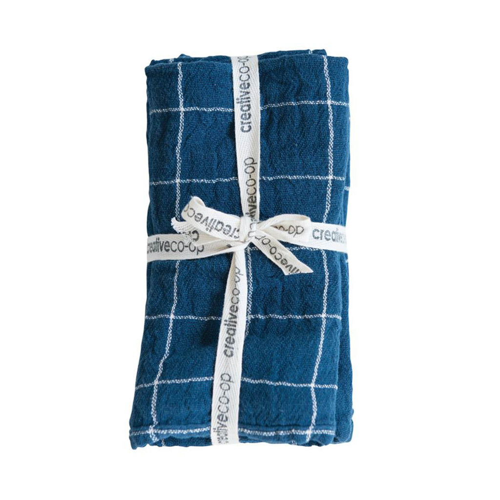 Indigo Blue Cotton Napkin Set of 4