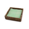 Rattan Napkin Box - Beverage - Brown - in use