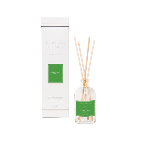 K. Hall Designs Scent Diffuser Kit - Bergamot Lime
