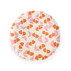 Anne Bentley Plate - Pink & Orange Shapes