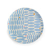 Anne Bentley Plate - Blue Ovals