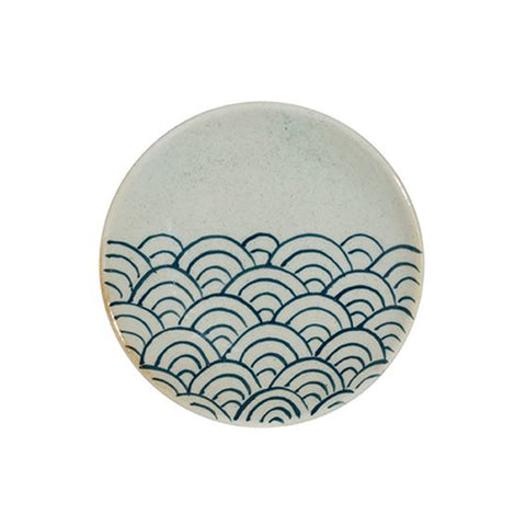 Japanese Hand-Painted Stoneware 5