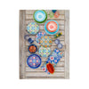 Talavera Tile Salad Plates Set of 4 - lifestyle