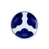 Blue & White Kisshyo Plate - Ume Blossoms
