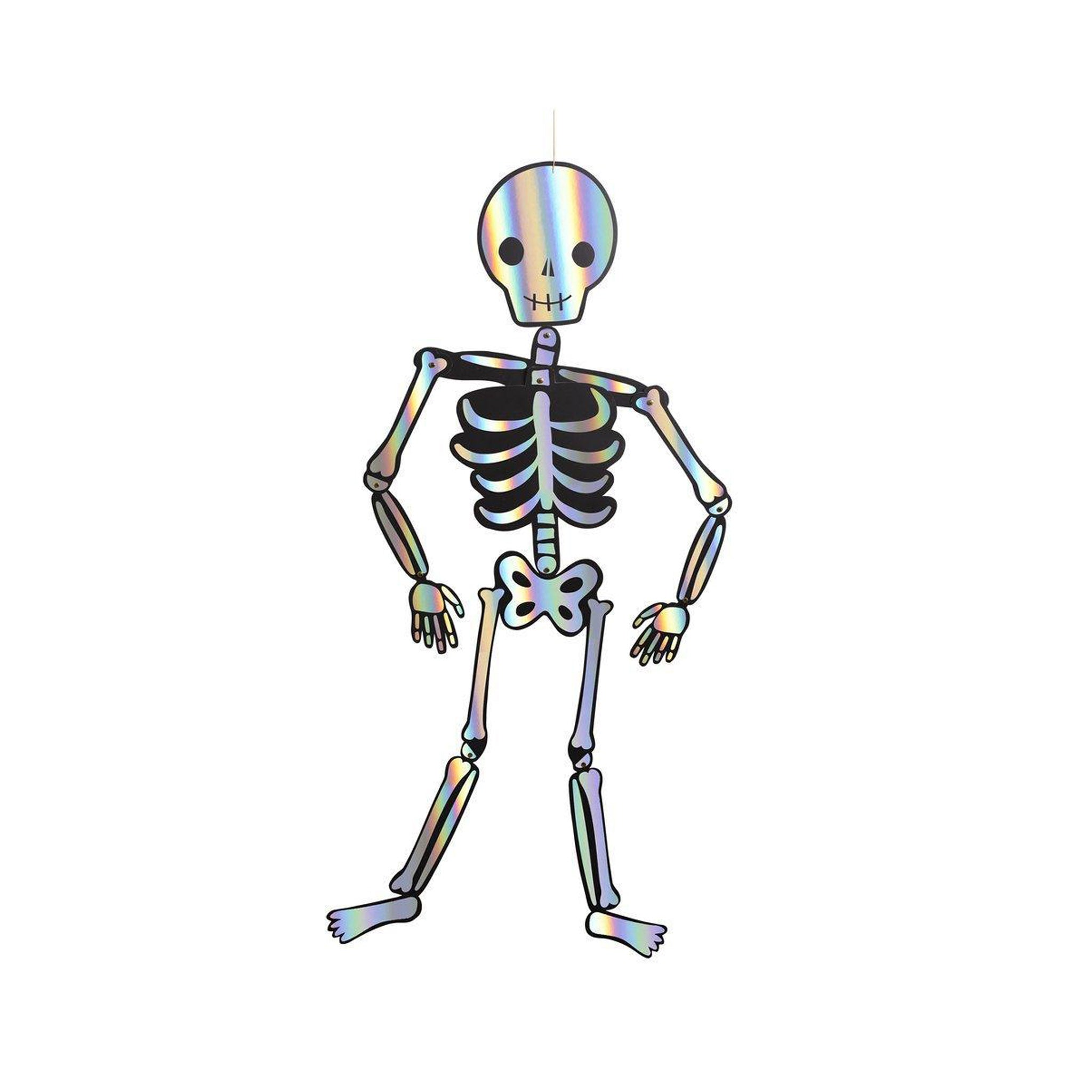 Giant 4ft Skeletons Decorations Set of 3