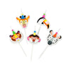 Party Animals Birthday Candles Set