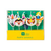 Party Animals Birthday Candles Set - in package