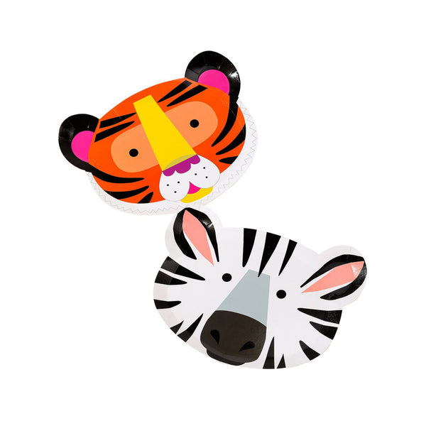 Party Animals Shaped Paper Plates