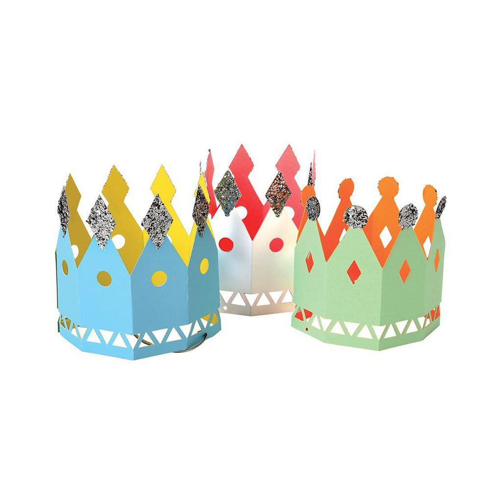 Paper Party Crowns Set of 8