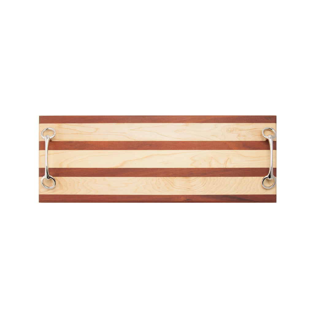Double Appetizer Board with Bit Handles