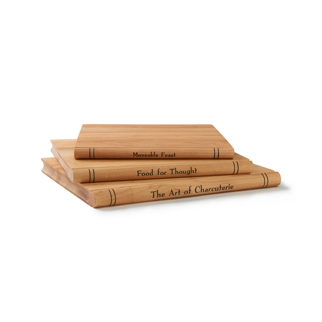 Trilogy Wooden Cheese Servers