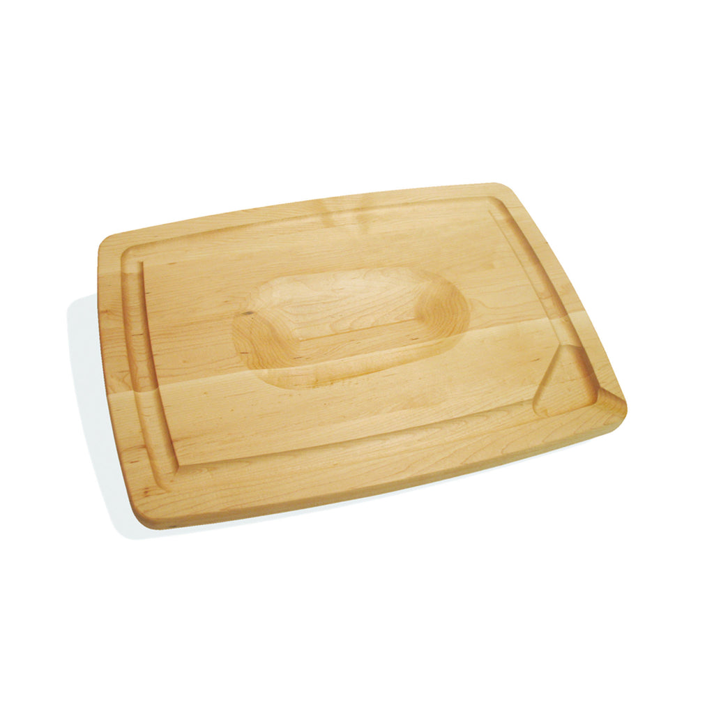 Maple Carving Board with Pour Spout