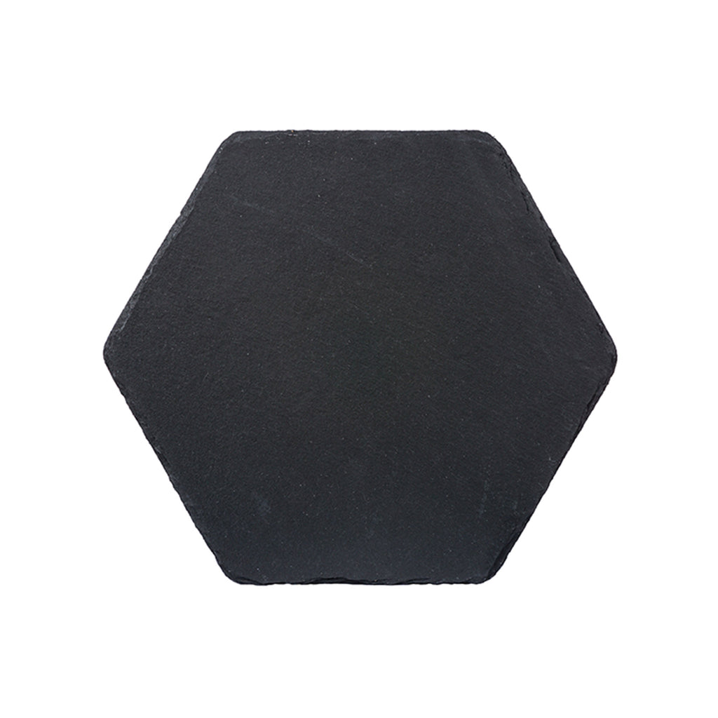 Charcoal Slate Hexagon Server